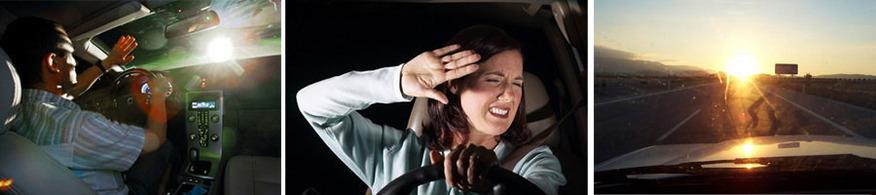 Как часто Вас ослепляют фарами встречные машины? Каково вести автомобиль при ярком солнце?
